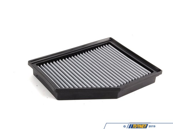 "T#2648 - 31-10144 - aFe ProDry S Air Filter - E60 525i 528i 530i - This is a drop-in stock replacement aFe performance air filter that installs into your BMW's factory airbox. This particular filter fits the following BMWs:E60 5 series: 525i 525xi 528i 528xi 530i 530xi 2004-2010  E85 Z4: Z4 M Coupe Z4 M Roadster 2004-2008 This version has an oil-free filter media for less maintenance. For the best flowing filter, with the best performance gain, we always recommend the standard aFe ""Pro5R "" filter (which has a blue pre-oiled filter media), but this oil-free filter flows only slightly less than the blue Pro5R  style aFe filter, and requires no re-oiling after cleaning the filter. - AFE - BMW"