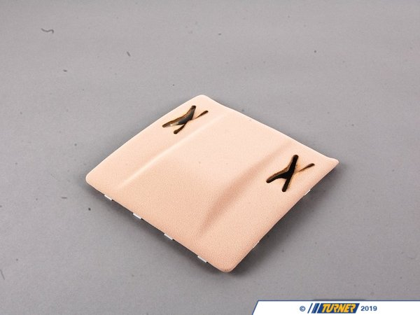 T#9816 - 51448229034 - Genuine BMW Front Headlining Cover Hellbeige - 51448229034 - E46 - Genuine BMW -