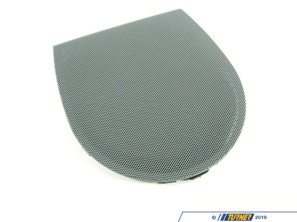 T#109699 - 51468226494 - Genuine BMW Cover Loudspeaker Grau - 51468226494 - E46 - Genuine BMW -