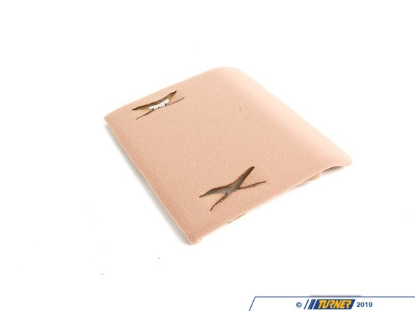 T#106420 - 51448233457 - Genuine BMW Front Headlining Cover Hellbeige - 51448233457 - E46 - Genuine BMW -