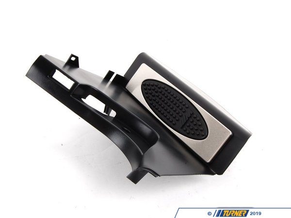 Genuine BMW Genuine BMW M Dead Pedal - Black - E39 M5 540i 528i 525i 51432499065