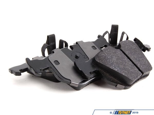 T#2155 - TMS2155 - Hawk HPS Street Brake Pads - Rear - E9x 330/335 - Hawk - BMW