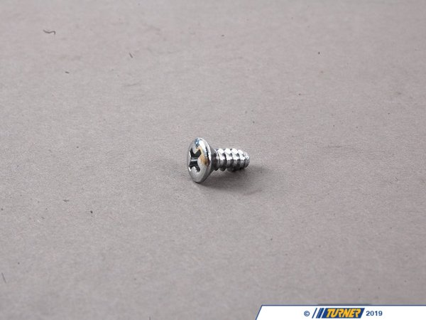 T#27357 - 07119902454 - Genuine BMW Recessed Oval Head Sheet-Metal Screw - 07119902454 - E30 - Genuine BMW -