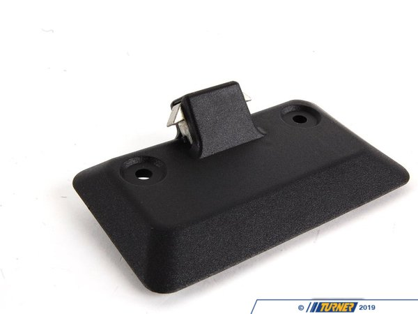 T#9023 - 51168163017 - Genuine BMW Trim Outer Glove Box Lock 51168163017 - Schwarz - Genuine BMW -