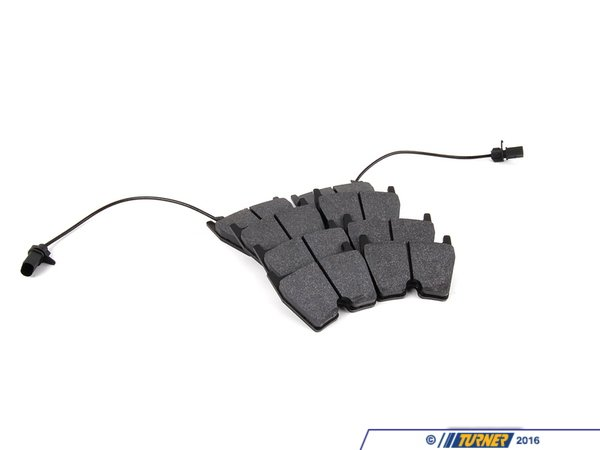 T#16506 - TMS16506 - Brembo Calipers GT8, G - Race/Street Brake Pad Set - Hawk HP Plus - Hawk - BMW