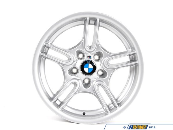 T#23136 - 36112228995 - Genuine BMW Light Alloy Rim 8Jx17 Et:20 - 36112228995 - E39,E39 M5 - Genuine BMW -