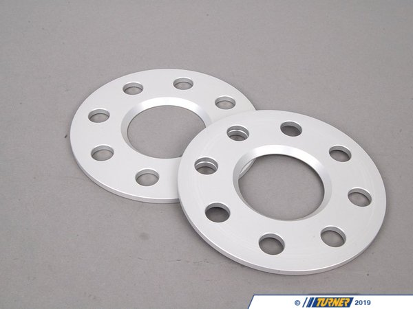 "T#4169 - 1024562 - MINI R50/R52/R53 5mm H&R Wheel Spacer Set - 5mm = .20""4/100 bolt pattern; 56.2 center boreDR type = spacer fits in between the wheel and the hub. Longer wheel bolts are required.Hubcentric = Yes*, the original hub lip still protrudes through the spacerH&R's 5mm wheel spacers are Made in Germany and are TUV approved. H&R manufacturers their spacers from a super lightweight aluminum/magnesium alloy for excellent strength and also to save unsprung weight. The spacers are drilled for additional lightness and easy fitment. They are then hard anodized for durability. These are not low quality universal spacers - the bolt pattern, hub sizing, and other dimensions are designed to be used on MINI models only.This spacer slips on the existing hub lip and leaves some lip left over for the wheel to rest on. This keeps the wheel hubcentric*.* - To avoid vibration, 5mm spacers work best with wheels that have a flush mounting surface. Wheels that have a bevel around the mounting surface will not be fully seated on the hub and a vibration may result.Longer wheel bolts are strongly recommended. Choose from black or silver bolts from the options below. Wheel locks to work with this spacer size are also available.Wheel Spacer FAQHow To Measure for SpacersWheel Spacer Encyclopedia - everything you wanted to knowThis item fits the following BMWs:2002-2006  R50 MINI MINI Cooper2005-2008  R52 MINI MINI Cooper Convertible, MINI Cooper S Convertible. 2002-2006  R53 MINI MINI Cooper S - H&R - MINI"