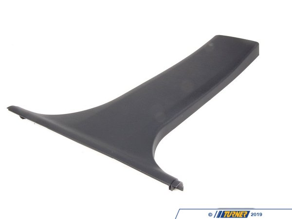 T#104846 - 51438226584 - Genuine BMW Cover, B-Column Bottom Right Schwarz - 51438226584 - E46 - Genuine BMW -
