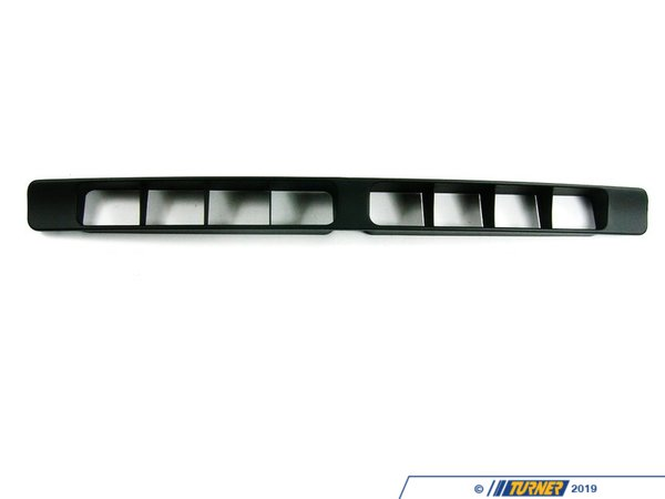 Genuine BMW Genuine BMW Lower Bumper Grille - E30 318i 318is 325ix 325i 325is 325e 51711953609