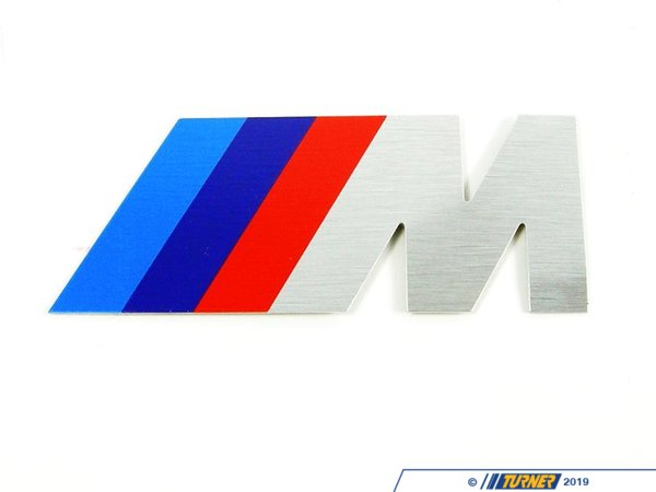 "T#11281 - 72601312802 - Genuine BMW Letter ""M"" Front - 72601312802 - E34,E34 M5 - Genuine BMW -"