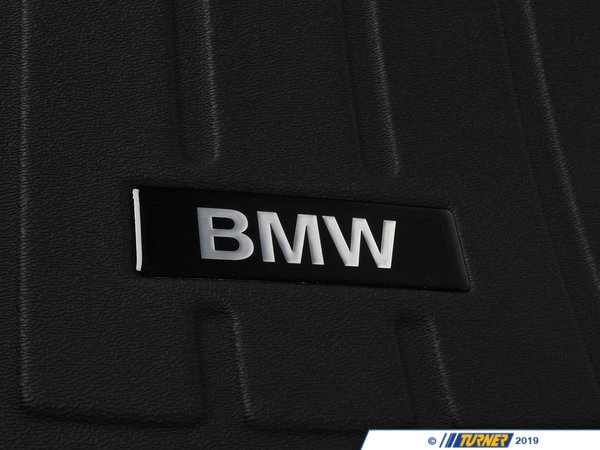 Genuine BMW Genuine BMW Cargo Tray E65/66 Black - 82110305060 - E65 82110305060