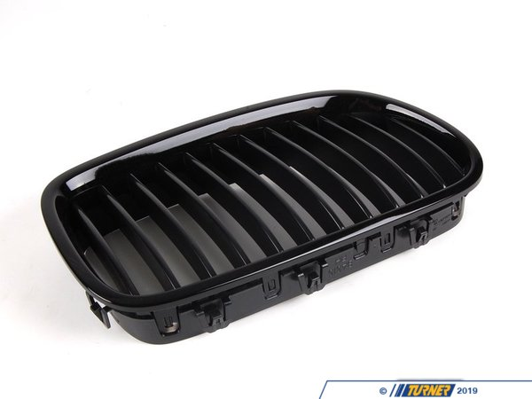 Genuine BMW M Performance BMW M Performance Right Gloss Black Grille - F10 Non-M 51712165528