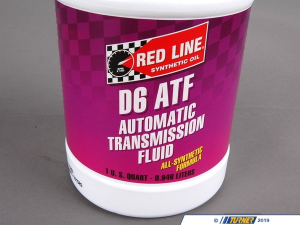 T#16542 - ATFD6 - Red Line Synthetic D6 ATF - Redline - BMW