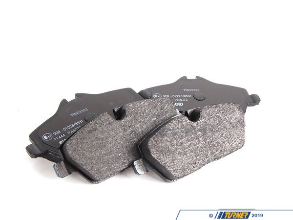T#15858 - 34116772892 - OEM MINI Brakes Repair Kit, Brake Pads 34116772892 - OEM MINI REPAIR KIT, BRAKE PADS ASBES.--This item fits the following BMWs:MINI Cooper - Mini Cooper, Mini Cooper Clubman, Mini Cooper Convt--. - Pagid -