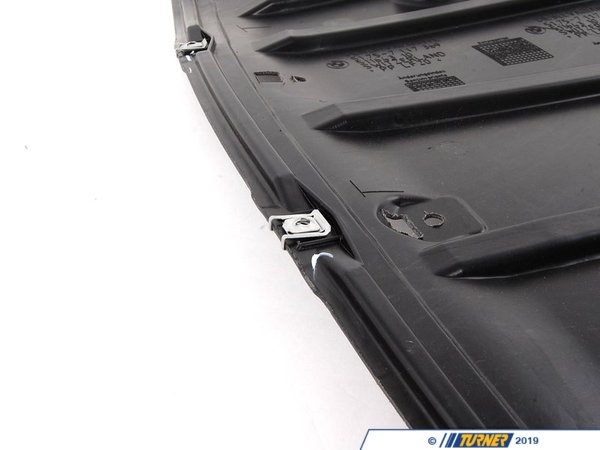 T#13961 - 51757117369 - Genuine BMW Underhood Shield - 51757117369 - E90,E92 - Genuine BMW -