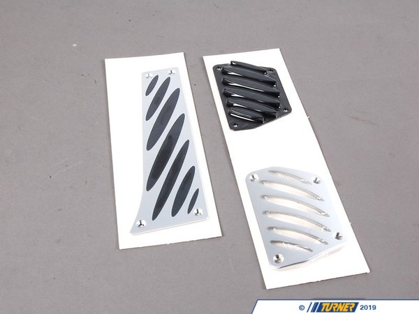 T#3799 - 35002213212 - BMW Performance Aluminum Pedal Set - Auto/Steptronic Transmission - Genuine BMW - BMW