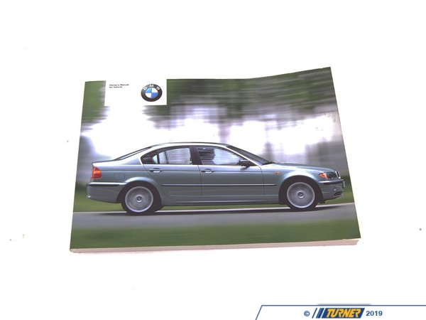 T#26479 - 01410156168 - Genuine BMW Owner's Handbook E46/4 - 01410156168 - E46 - Genuine BMW -