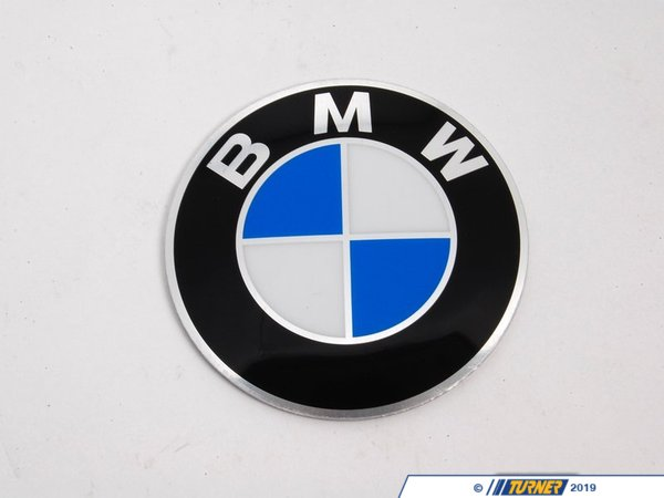 T#8212 - 36131122132 - Genuine BMW Badge D=70mm - 36131122132 - E34,E34 M5 - Genuine BMW Badge - D=70mmThis item fits the following BMW Chassis:E34 M5,E34 - Genuine BMW -
