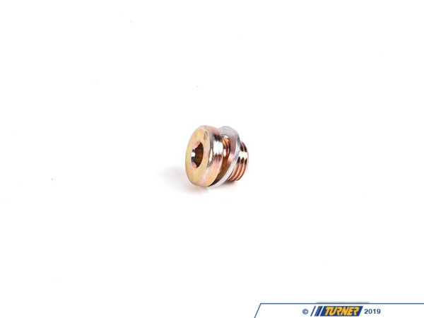 T#51355 - 24111421387 - Genuine BMW Screw Plug With Gasket Ring - 24111421387 - Genuine BMW -