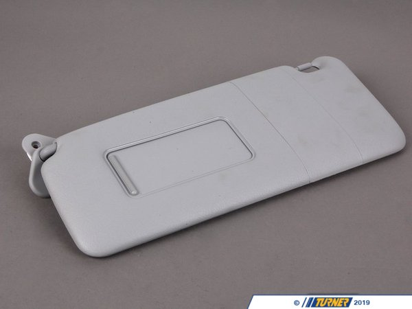 T#86378 - 51168258009 - Genuine BMW Left Sun Visor Make-Up Lamp Hellgrau - 51168258009 - E53 - Genuine BMW -