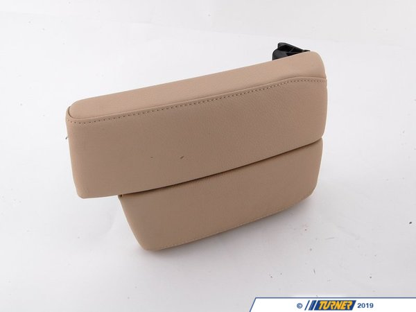 T#86908 - 51169133814 - Genuine BMW Armrest, Front Center Creambeige - 51169133814 - E92,E93 - Genuine BMW -