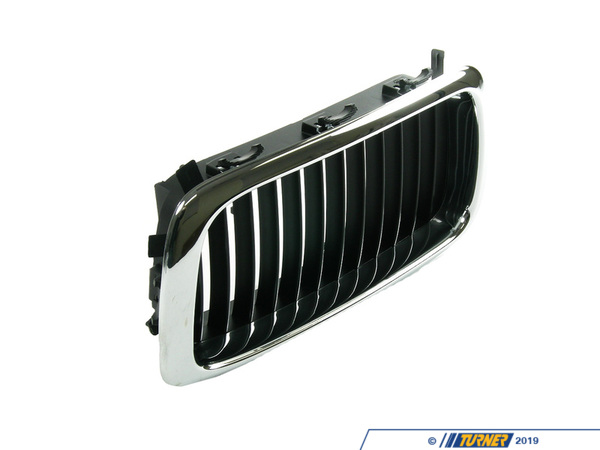 Genuine BMW Genuine BMW Kidney Grille - Left - E38 740i 740iL M60 4.0L M62 4.4L 51138125811