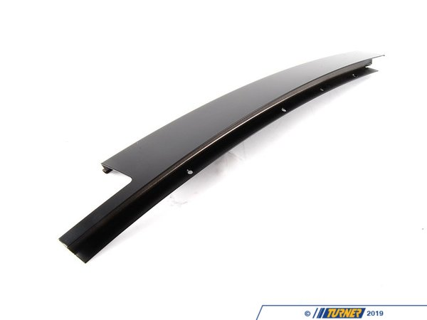 Genuine BMW Genuine BMW Matte Shadowline Trim - Left 51348160971