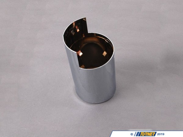 T#48325 - 18307549559 - Genuine BMW Tailpipe Tip, Chrome - 18307549559 - E90 - Genuine BMW -