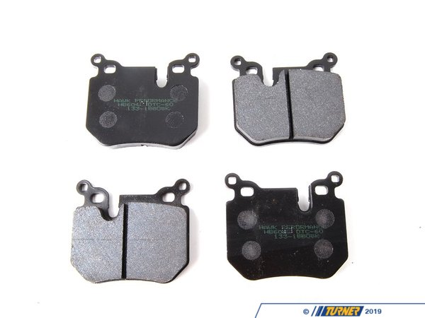 Hawk Hawk DTC-60 Race Brake Pads - Rear - E82 135 TMS6061