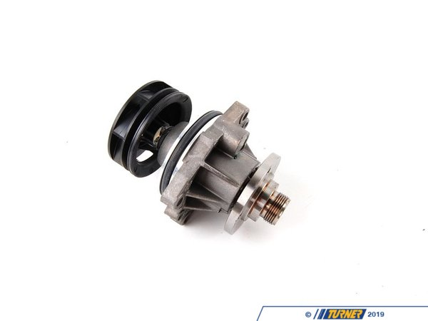 T#623 - 11517527799 - Water Pump - M50/M52 With Composite Impeller (Original BMW) - The early M50/M52 engines had a serious weak point: the water pump. BMW originally used a plastic impeller in the water pump. This would degrade over time and eventually break apart. Your car overheats immediately. This water pump is the latest updated part with a composite impeller. The composite is stronger and lighter than the less-expensive metal impeller version. And it does not suffer from the problems of the early plastic design.When doing any sort of repair or maintenance there is no replacement for genuine factory parts. Turner Motorsport carries the Genuine BMW brand with pride and has the parts you need to complete your next project with confidence.This waterpump fits the following BMWs:1992-1999 E36 3 series - 323is, 323ic, 325i, 325is, 325ic, 328i, 328ic, M3 3.0 (S50/US), M3 3.2 (S52)1991-1995  E34 BMW 525i1997-1998E39 5 series - 528i1996-1998 Z3  - Z3 2.8,1998-2000 Z3 Roadster/Coupe - M Roadster, M Coupe (S52) - Genuine BMW - BMW