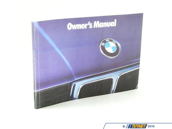 T#26903 - 01479786809 - Genuine BMW Owner's Handbook E34 - 01479786809 - E34 - Genuine BMW -