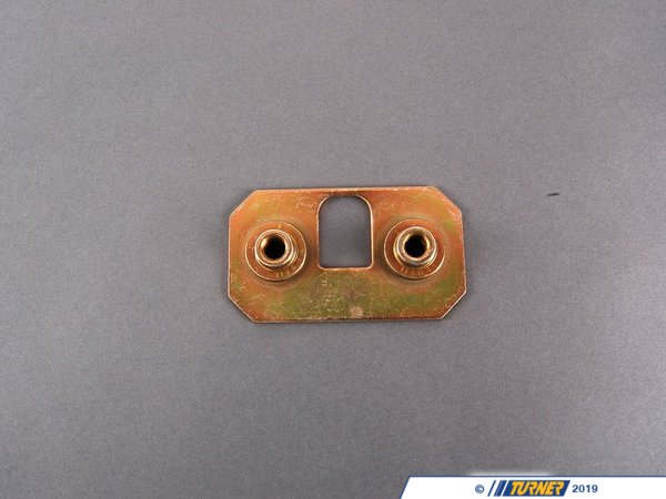 T#73351 - 41358164026 - Genuine BMW Lock Plate M8 - 41358164026 - E38,E39,E39 M5 - Genuine BMW -