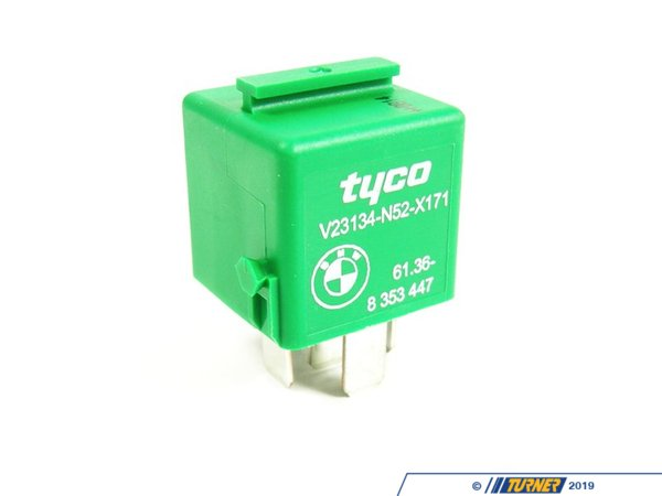 T#12394 - 61368353447 - Genuine BMW  Relay, Two-pole Make Contact 61368353447 - Genuine BMW -