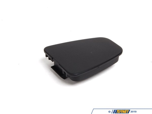 T#98327 - 51418213902 - Genuine BMW Cover Schwarz - 51418213902 - E46 - Genuine BMW -