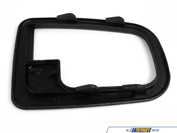 Genuine BMW Inner Door Handle Trim Surround - Left - E36, Z3 51228219023