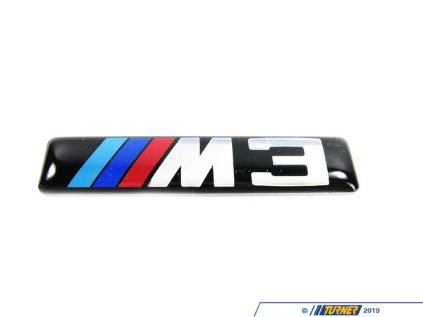 51137893023 side grille emblem with m3 logo e46 m3. Black Bedroom Furniture Sets. Home Design Ideas