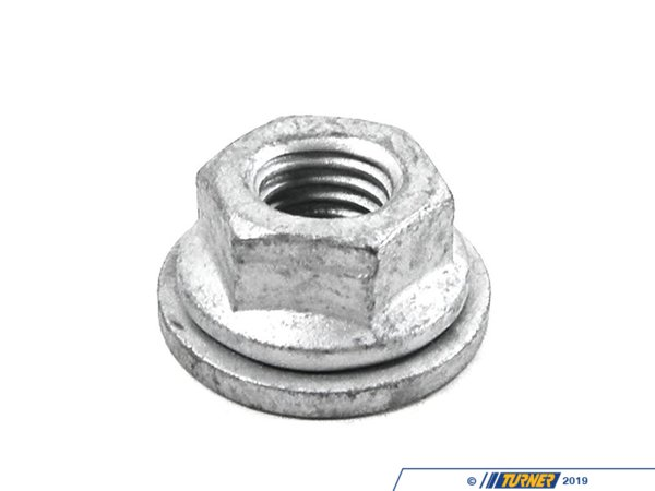 T#7953 - 33326760376 - Genuine BMW Rear Axle Self-locking Collar Nut 33326760376 - Genuine BMW Self-Locking Collar Nut - M10-10 Zns3This item fits the following BMW Chassis:E39 M5,E60 M5,E63 M6,E70 X5M,E71 X6M,E53 48IS,E39,E53 X5,E63,E65,E70 X5,E71 X6,F15,F16,F34 - Genuine BMW -