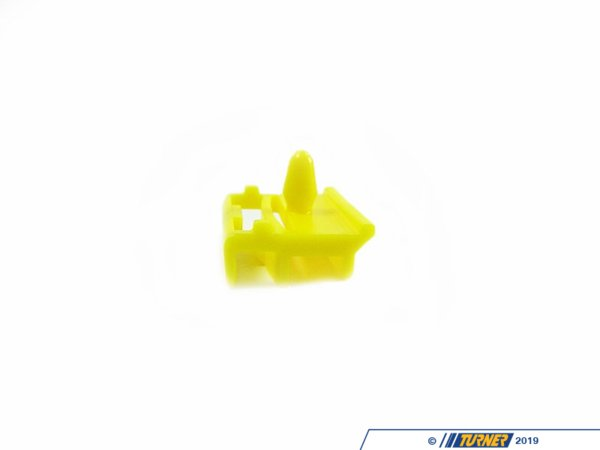 T#119874 - 51777166869 - Genuine BMW Clip Gelb - 51777166869 - E90 - Genuine BMW -