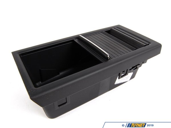 Genuine BMW Genuine BMW Roller Top Storage Tray - Schwarz - E46 51167043093