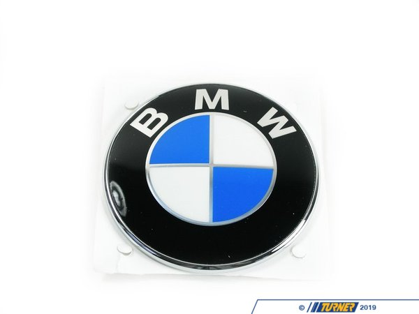T#12156 - 51141970248 - BMW Trunk Emblem - E53 X5, E65 745i, 760i, E31, Z3 - Genuine BMW - BMW