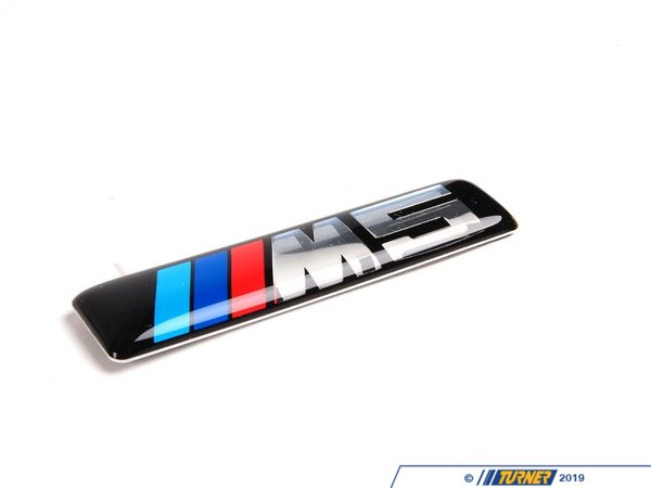 T#80231 - 51137898311 - Genuine BMW Side Grill Emblem - E60 M5 - Genuine BMW - BMW
