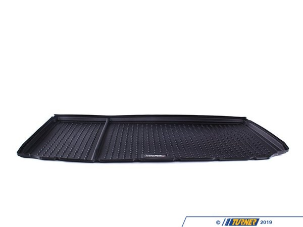 T#24080 - 51472182515 - Genuine MINI Fitted Luggage Compartment Mat Coopers-Logo - 51472182515 - Genuine Mini -