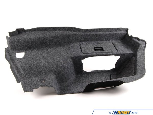 T#24105 - 51477122411 - Genuine BMW Left Trunk Trim - 51477122411 - E92 - Genuine BMW -