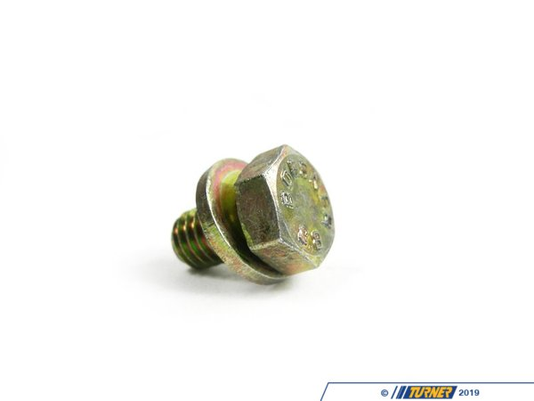 T#28191 - 07119915041 - Genuine BMW Hex Bolt With Washer - 07119915041 - Genuine BMW -