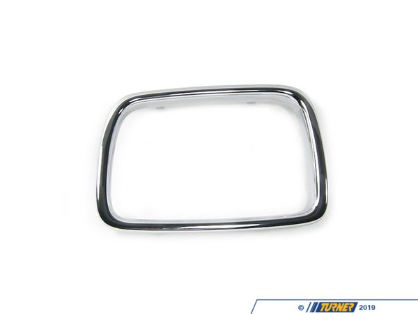 Genuine BMW Genuine BMW Chrome Grille Surround - Left - E34 525i 530i 540i M5 51138148725
