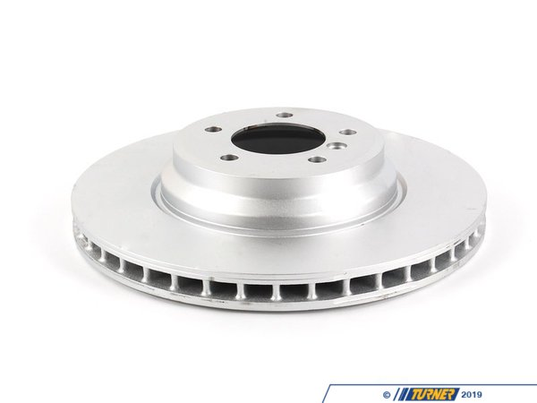 T#15882 - 34116855000 - Genuine BMW Brake Disc, Ventilated 348X30 - 34116855000 - E90,E92,E93 - Genuine BMW -