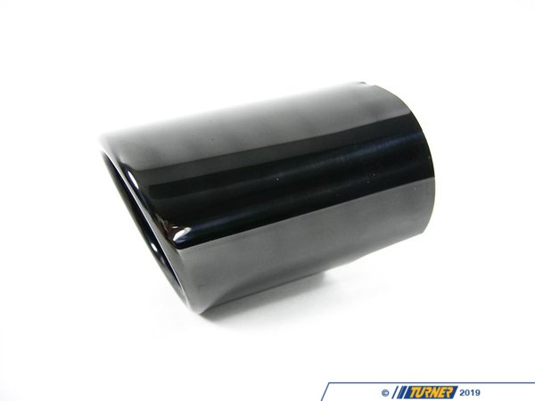 T#7479 - 18107503584 - Genuine BMW Tailpipe Tip, Black Chrome - 18107503584 - E53 - Genuine BMW -