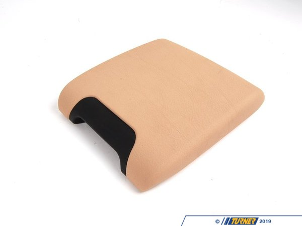 T#83730 - 51167140690 - Genuine BMW Center Arm Rest, Imitation L - 51167140690 - Sandbeige - Genuine BMW -