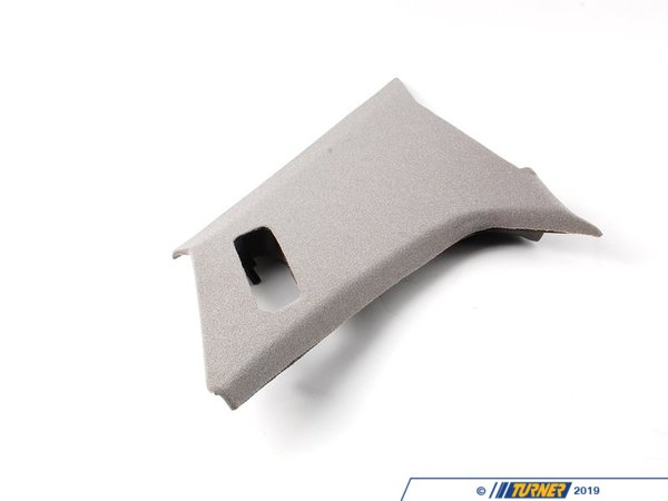 T#104444 - 51438126454 - Genuine BMW Trim Panel Column, Rear Righ - 51438126454 - Silbergrau - Genuine BMW -