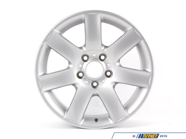 T#23110 - 36111094506 - Genuine BMW Light Alloy Rim 8Jx17 Et:47 - 36111094506 - E46 - Genuine BMW Light Alloy Rim - 8Jx17     Et:47This item fits the following BMW Chassis:E46 - Genuine BMW -